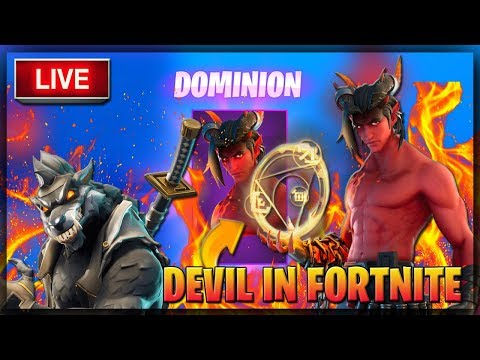 🔥The DEVIL In Fortnite - Dominion SKIN Is New Blazing DEVIL SKIN! Fortnite Dominion Epic Gameplay!