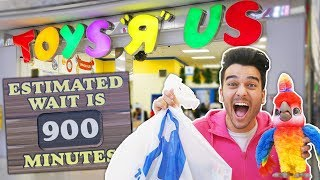 The Last Toys R Us in the World.