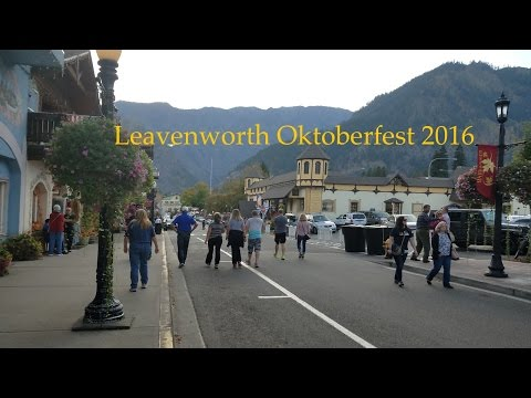 Leavenworth, WA : Oktoberfest