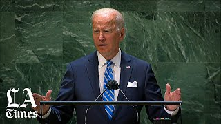 Biden in U.N. speech: United States is 'back at the table'