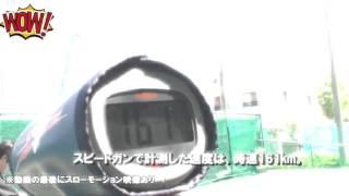 Самурай разрубил мяч, летевший на скорости 160 км/час
