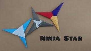 Origami Ninja Star 3 point Star 折纸忍者三角星 V1