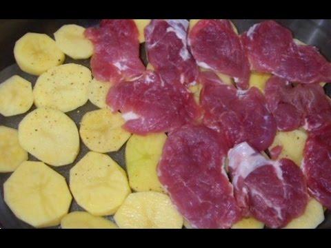 мясо по-французски со свининой рецепт пошагово в
