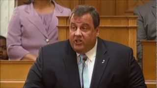 Chris Christie - Address to Special Session of Legislature (HQ)