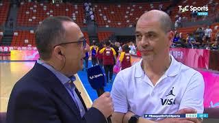 Sergio Hernández, después del partido VS Rusia