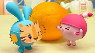 Малышарики – Тигрёнок   Новая Серия 208   Мультики для детей