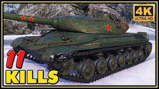 WZ-111 5A - 11 Kills - 11K Dmg - World of Tanks Gameplay - 4K Video