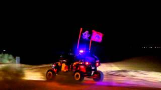 Dubai Disco Cars Quad Sport in Desert Night Driving Wüste 2015