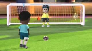 Fifa 09 8 vs 8 mii play (little segment to show u how it