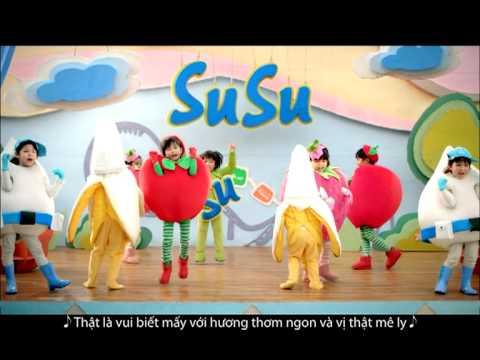Quảng cáo sữa chua Vinamilk SuSu cho trẻ em
