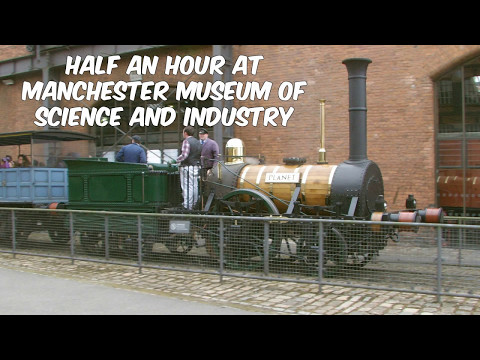 Half an Hour at (229) - Manchester MOSI 6.5.2017 - Planet - Science & Industry