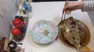 Японская кухня ✰ Морской карась Дорада с рисом [Eng sub] Tai-meshi, Mixed Rice with Sea Bream / 鯛めし