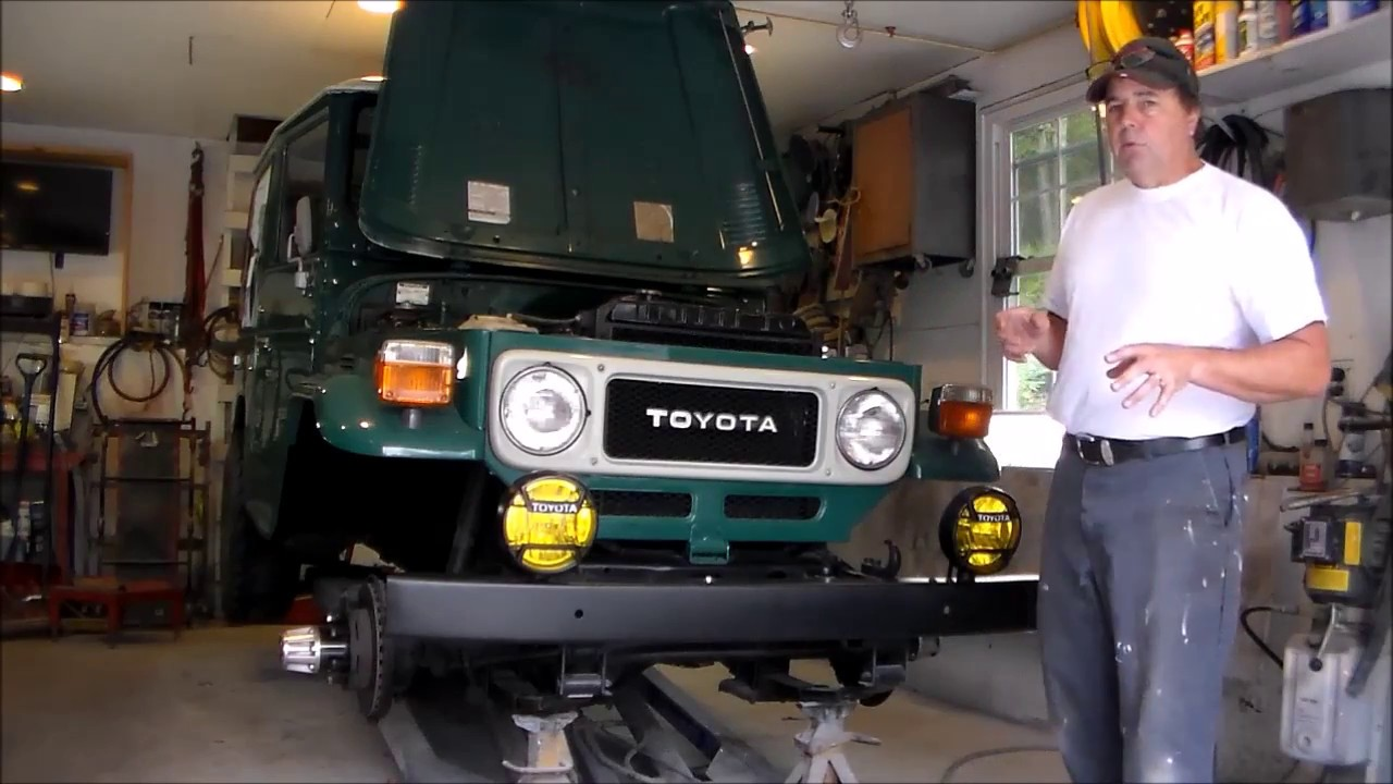 Fj40 Power Steering Conversion Mounting The Box Youtube