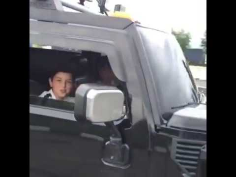 Hummer don't allow children's to drive cars
