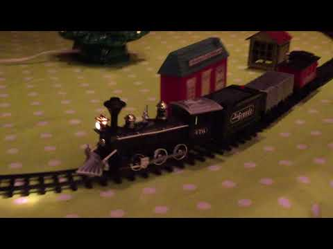 Rio Grande Christmas Train Holidays Set Toy New Bright Ind. Co 1989