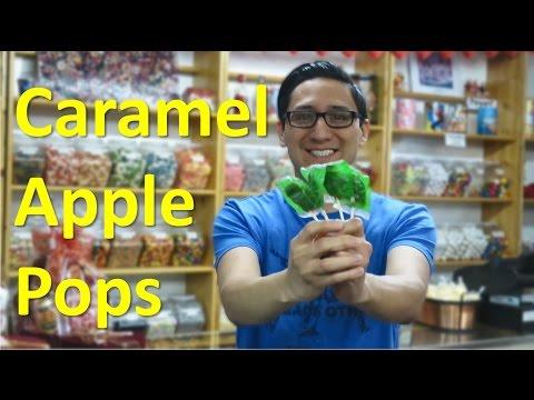 Caramel Apple Pops // TheCandyGuy