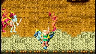 Golden Axe - Beginner mode with the Old Guy - User video