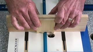 Rockler Router Box Joint Jig # 9