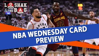 Loshak and The Bag's Free NBA Picks Against the Spread for Today's Card | Oct 17th
