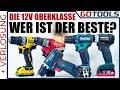 🔥 Die Oberklasse Der 12 Volt Akkuschrauber | Wer Ist Der Beste? | Inkl. Verlosung