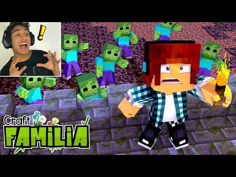 Minecraft Familia #13 - INVASÃO DE ZUMBIS !! thumbnail