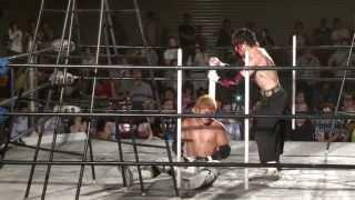 2013年7月7日 博多スターレーン BJW認定タッグ選手権試合〈王者組〉宮本...