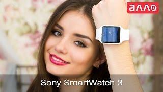 видео-обзор смарт-часов Sony SmartWatch 3 SWR50