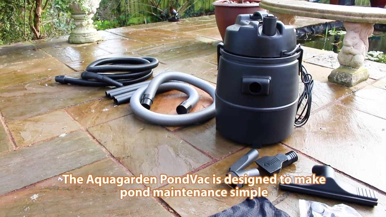 How To Set Up And Use The Aquagarden Essential Pond Vac