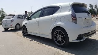 Drag Race: Toyota Aqua and FAW V2