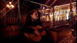 Сплин - Иди через Лес (cover by Konevskih, live in Saint-Petersburg)