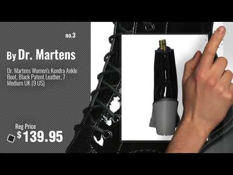 fbdeceb0817 Top 5 Dr. Martens Patent Leather [2018]: Dr. Marten's Women's 1460 8 ...