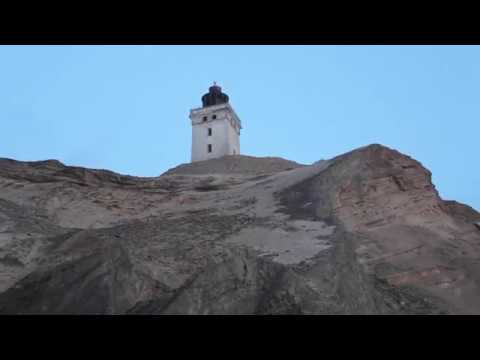 Danish Landmark Rubjerg Knude From A Different Angle w/ ASMR Ocean Waves