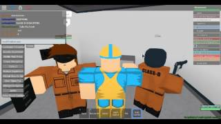 Roblox SCP-1025 Test Site-61 Roleplay