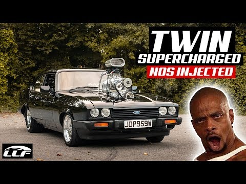 THE TWIN *SUPERCHARGED* NOS INJECTED FORD CAPRI