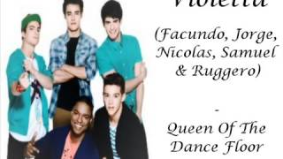 Violetta The Queen Of The Dance Floor Letra