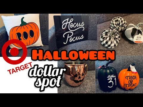DOLLAR SPOT HALLOWEEN 2019 | Farmhouse Halloween Decor