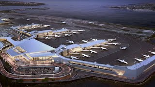 LGA New Delta Airline's Gates and Concourse