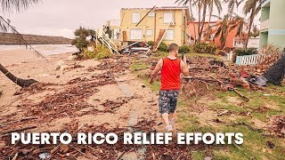 Puerto Rico Relief: six months since Hurricane Maria aid continues