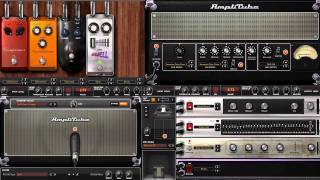 Amplitube 3 Guitar Cello Effect Settings