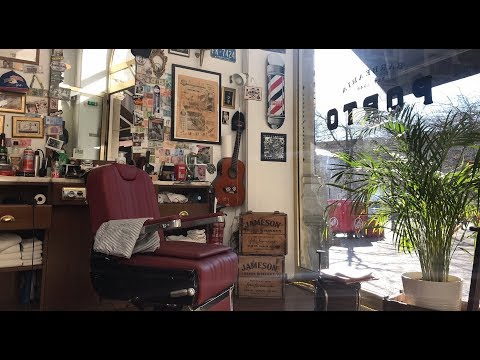 【DaHungryCouple explores Porto】 EP1: Local Barbershop Experience 波尔图型格体验:怀旧男士理发店