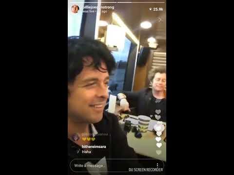 Billie and Jason White Instagram Live