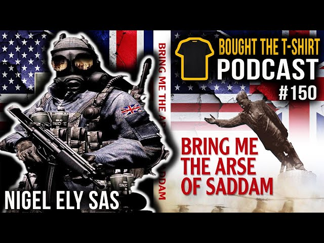SAS Legend On The Fight For Goose Green | Nigel Ely | Special Air Service | Bought The T-Shirt #150