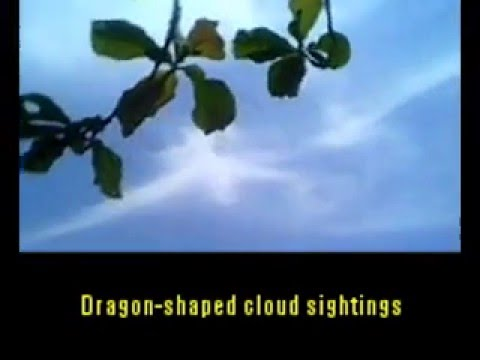 ODD NEWS - DRAGON-SHAPED CLOUD SIGHTINGS