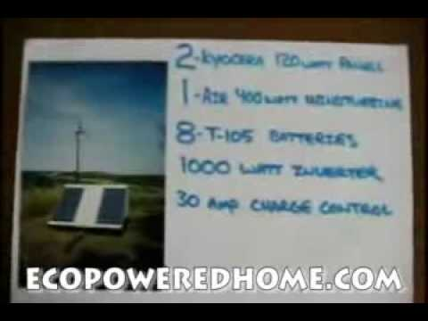 Incredible FOOTAGE!!! Effective DIY Off-Grid Domestic Renewable Energy