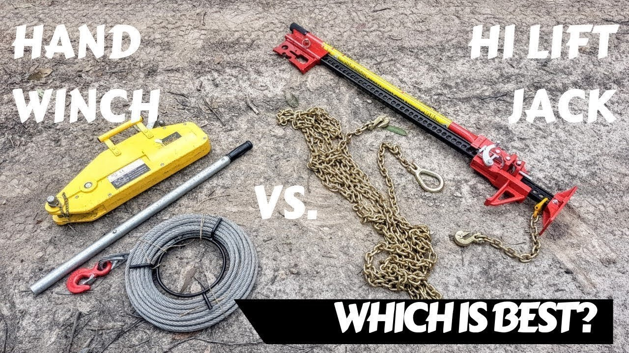 Hand Winch vs Hi Lift Jack - Which Is Best?