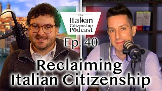 If I was born in Italy, am I a citizen? Do I need to regain Italian citizenship?