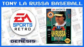 Tony La Russa Baseball (Sega Genesis) 1993 | EA Sports Retro | Demo Gameplay