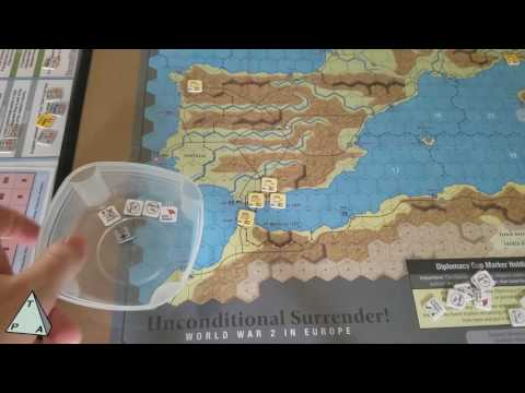 Review: Unconditional Surrender! by GMT Games (solitaire takes) - The Players' Aid