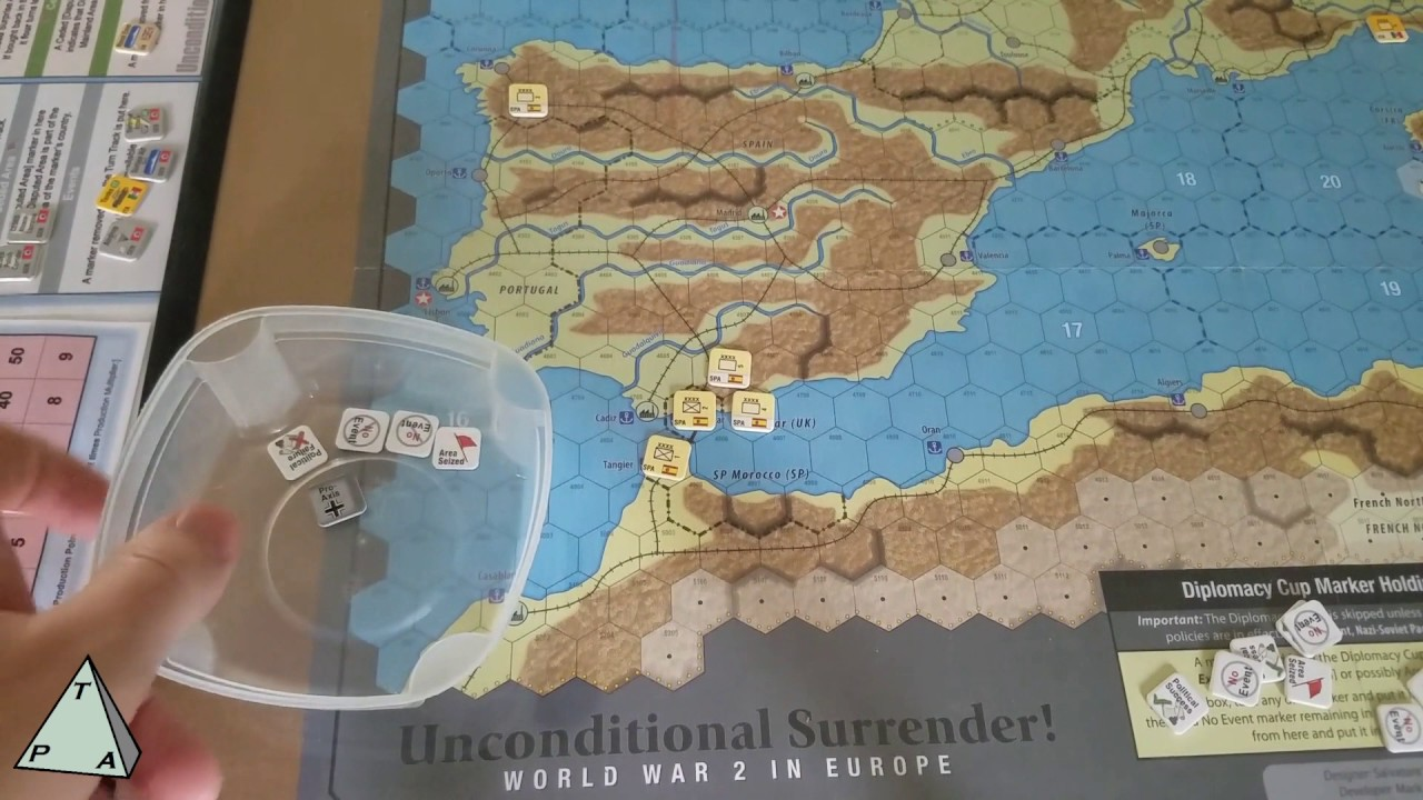 Review: Unconditional Surrender! by GMT Games (solitaire ...