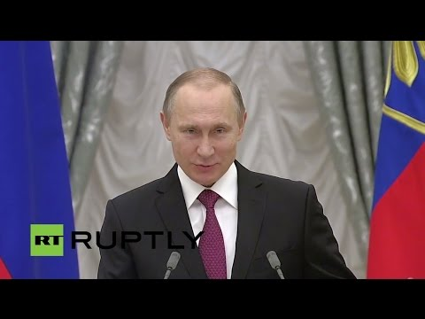 LIVE: President Putin presents state awards to cultural and scientific innovators